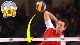 POWERFUL SPIKE EVER !? Monster Volleyball Spikes (HD)