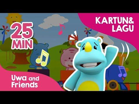 Kompilasi Lagu Anak Balita Terbaru 25 Menit Dan Film Uwa And Friends 03 - Koleksi Lagu Anak Anak