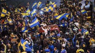 Boca campeón: así festejaron los hinchas en 7 y 50 en La Plata