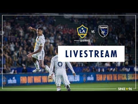 LA Galaxy vs San Jose Earthquakes | LIVE STREAM