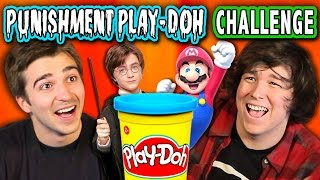 PUNISHMENT PLAY-DOH CHALLENGE (ft. React Cast & FBE Staff) | Challenge Chalice