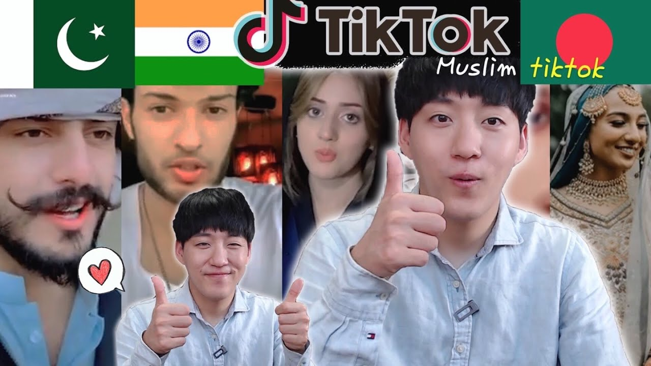 🇰🇷 Korea guy reacts to India, Pakistan, Banglaesh Tik-tok
