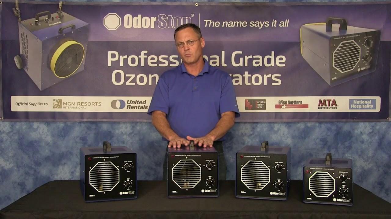 OdorStop Ozone Generators - Overview of all OdorStop Professional Grade  Ozone Generators