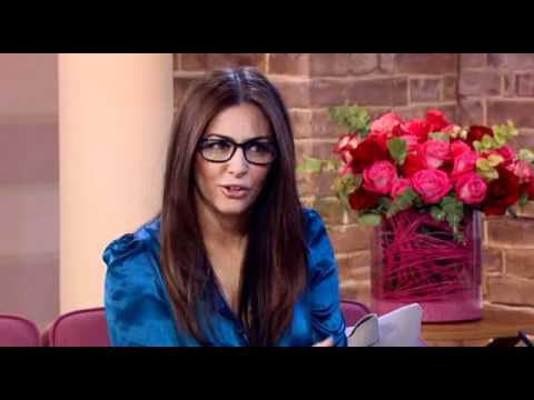Laila Rouass on This Morning (Holby City)