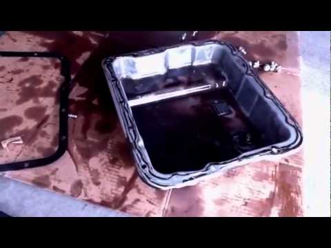 How To Change Your Transmission Filter Amp Fluid Youtube
