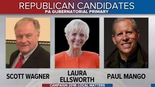 GOP candidates battle in Pennsylvania gubernatorial primary