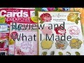 Simply Cards and Papercraft Magazine Issue 174 Unboxing and What I Made