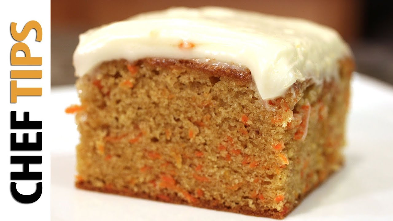 Carrot cake recipe youtube for Easy basic cake recipes from scratch