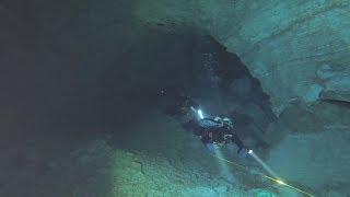 Ординская пещера. Дайверы