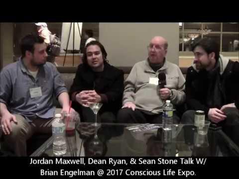 Jordan Maxwell @ 2017 Conscious Life Expo W. Dean Ryan, Sean Stone & Brian Engelman.