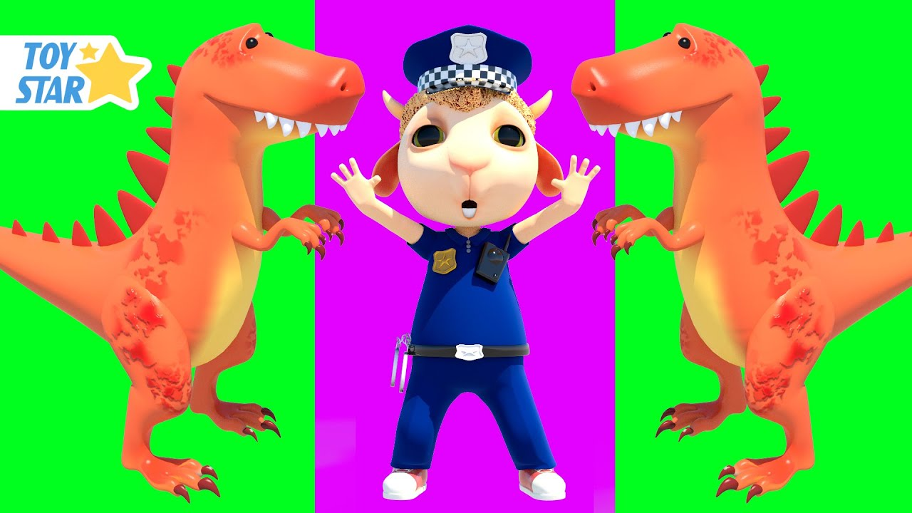 Dolly and Friends 3D | Dinosaur and Song for kids | Nursery Rhymes | Kids Songs #282