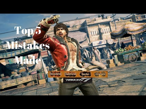 Top 5 Mistakes Players Make in the Orange Ranks Tekken 7