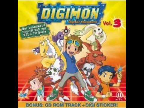 Digimon Tamers Soundtrack -10- Flieg mit dem Wind (German/Deutsch)