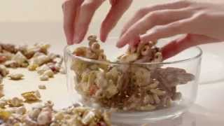 Snack Recipes - How To Make White Chocolate Snack Mix