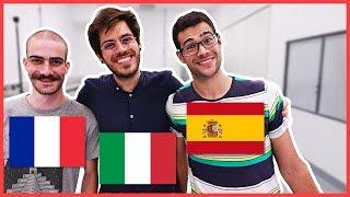 ITALIANO vs FRANCESE vs SPAGNOLO - MyPersonalPizza