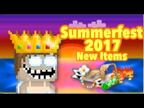 Growtopia | SummerFest 2017 + New Items!