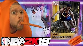 I turned into a ___ for March Madness NBA 2K19