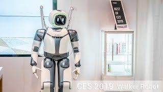 CES 2019 - Walker Robot named Best of CES by Engadget