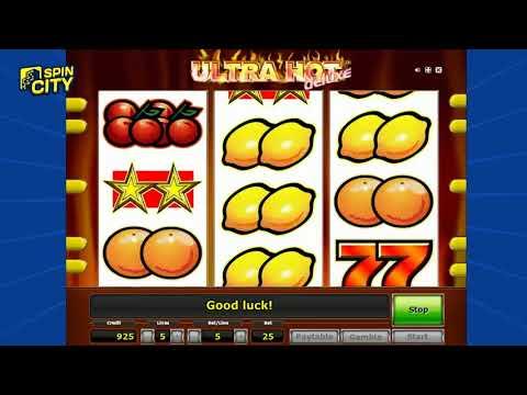 Игровой автомат - Ultra Hot Deluxe