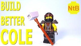 BUILD BETTER LEGO NINJAGO COLE