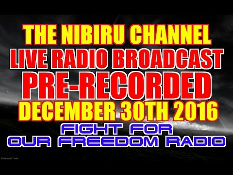 LIVE RADIO BROADCAST RECORED DEC. 30th 2016