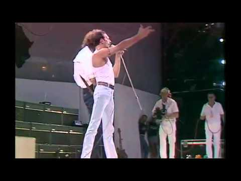 Queen (Freddie Mercury): We Are the Champions  (Live Aid Semiwidescreen)