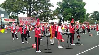 Lomba marching band SMP Kristen yobel kema(part2)