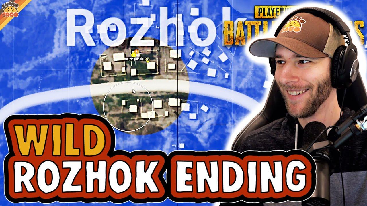 Wild Rozhok Ending ft. HollywoodBob - chocoTaco PUBG Duos Gameplay