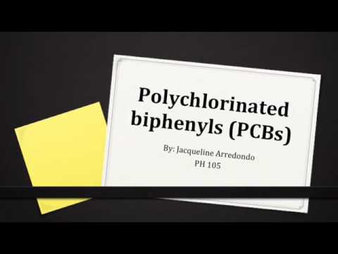 PH 105 Polychlorinated Biphenyls (PCBs)