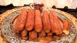 أصابع القرفه بالسكر تشوروز Churros recipe