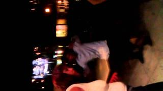 Wasted Indian Man Dancing Outside Of Club Alone