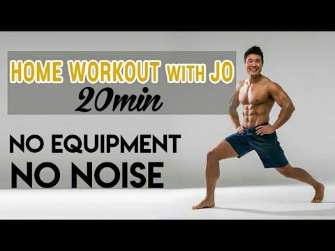 20 minute home workout l strength l yoga l cardio l no