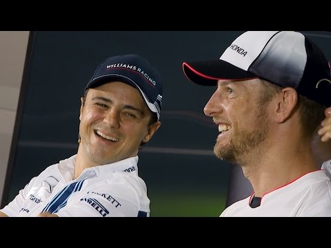 Button And Massa On Saying Goodbye To F1 | Abu Dhabi Grand Prix 2016