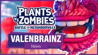 nEW VALENBRAINZ FESTIVAL DETAILS (News) - Plants vs Zombies: Battle for Neighborville