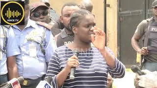 Police Parade Cameroonian Lady Who DRUG Nigerian Men, Take Their Belongings