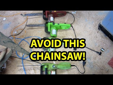 Portland 14 In Electric Chain Saw From Harbor Freight Doovi