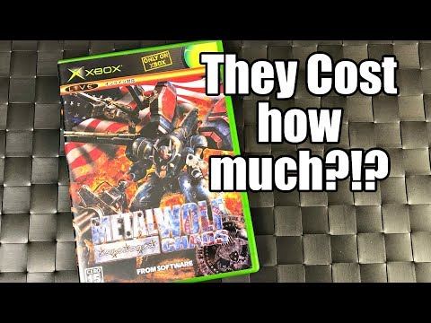 Stupidly EXPENSIVE & Rare Original XBOX Games - They Cost HOW MUCH?!