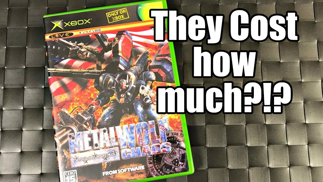 X Box Games For The Orginal : Stupidly expensive rare original xbox games they cost