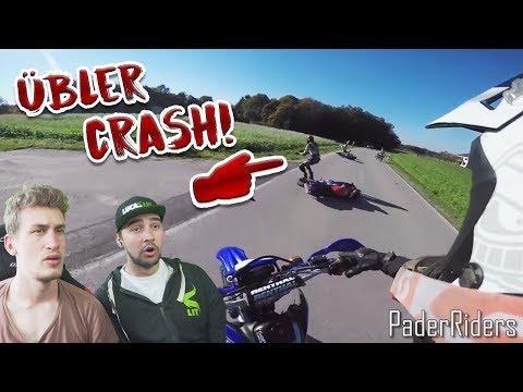 Motorräder knallen zusammen?! | Reaktion mit Lucas Lit
