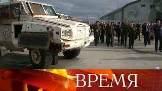 Масштабный военно-технический форум «Армия - 2018» открылся в подмосковном парке «Патриот».