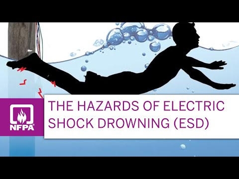 Do not Ignore the possibility of Electric Shock Drowning