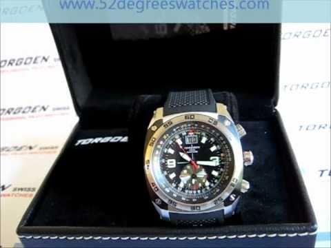97ea149ab7f Torgoen T07301 Professional Pilot Watch - YouTube