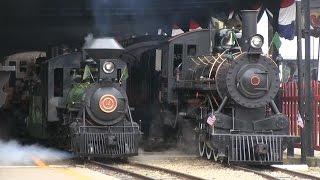 "16"" Gauge Steam in the Rain: Whiskey River Railway Day 2016"