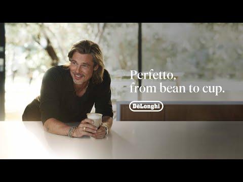 FR   Perfetto, du grain à la tasse le meilleur de l'expresso.  Campagne Brad Pitt x De'Longhi   60''