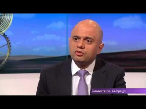 Sajid Javid has car crash 'magic money tree' BBC interview