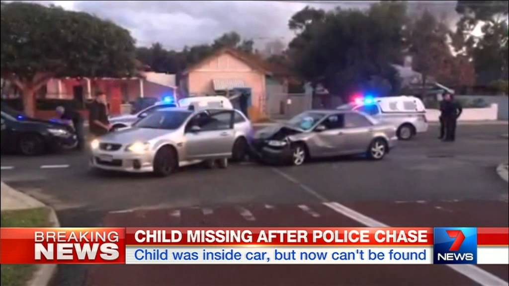 Child Missing After Police Chase | Seven News Perth | 22/07/2015