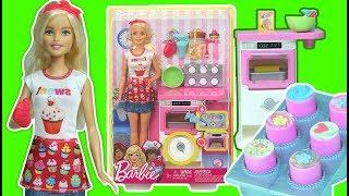 BarbieYeni Mutfak Eşyaları - Pasta Şefi   Barbie New Kitchen Utensils - Pastry Chef