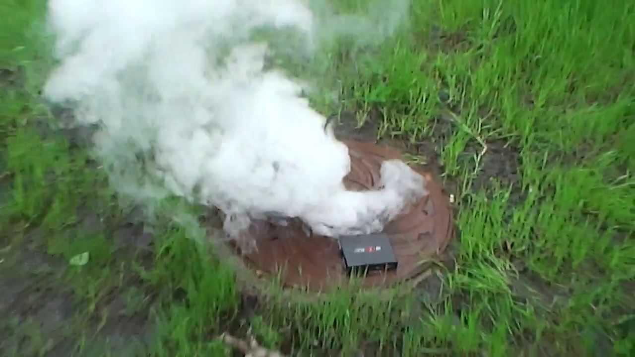 Дымовуха из гидроперита и анальгина
