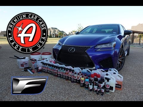 HOW TO FULLY DETAIL YOUR CAR (exterior and interior)! - LEXUS GS F feat. Adams Polishes