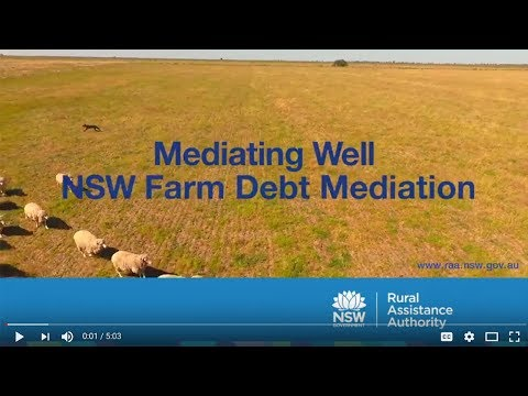 Mediating well – NSW Farm Debt Mediation